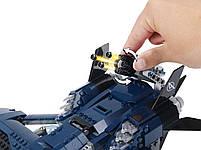 Lego Super Heroes Модернизированный квинджет Мстителей 76126, фото 10