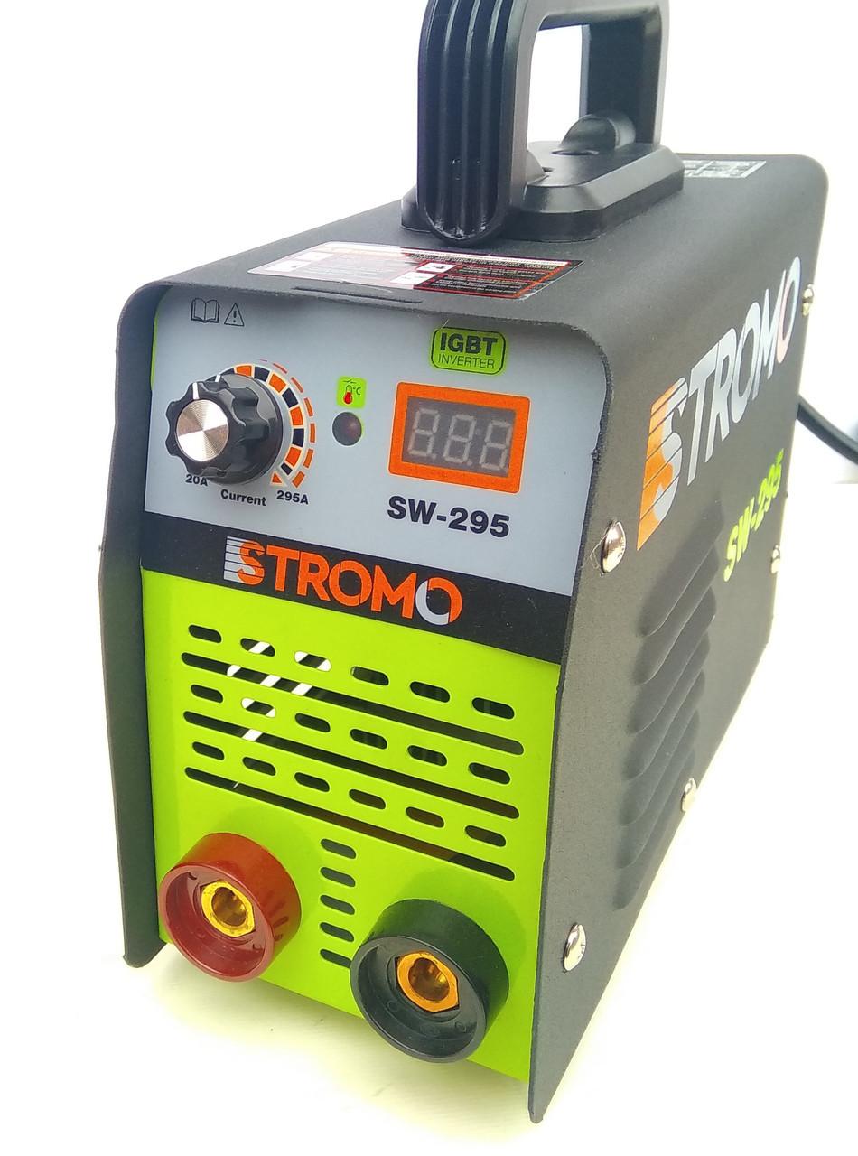 Зварювальний апарат інверторний Stromo SW-295. Зварювання Стромо