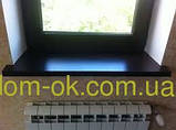 Подоконник Топалит /Topalit (Австрия) , Mono Classic,  цвет металлик 021 ширина 400 мм, фото 4