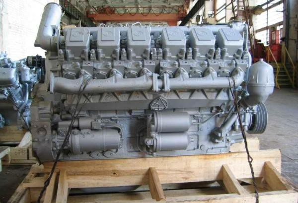 Двигатель ЯМЗ 240М2 осн.компл. (БЕЛАЗ) в сб. без КПП и сцепл. (пр-во ЯМЗ)