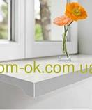 Подоконник Топалит /Topalit (Австрия) , Mono Classic,  цвет белый мрамор 070 ширина 450 мм, фото 3