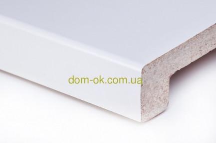 Подоконник Топалит /Topalit (Австрия) , Mono Classic,  цвет белоснежный полуглянцевый 406 ширина 150 мм