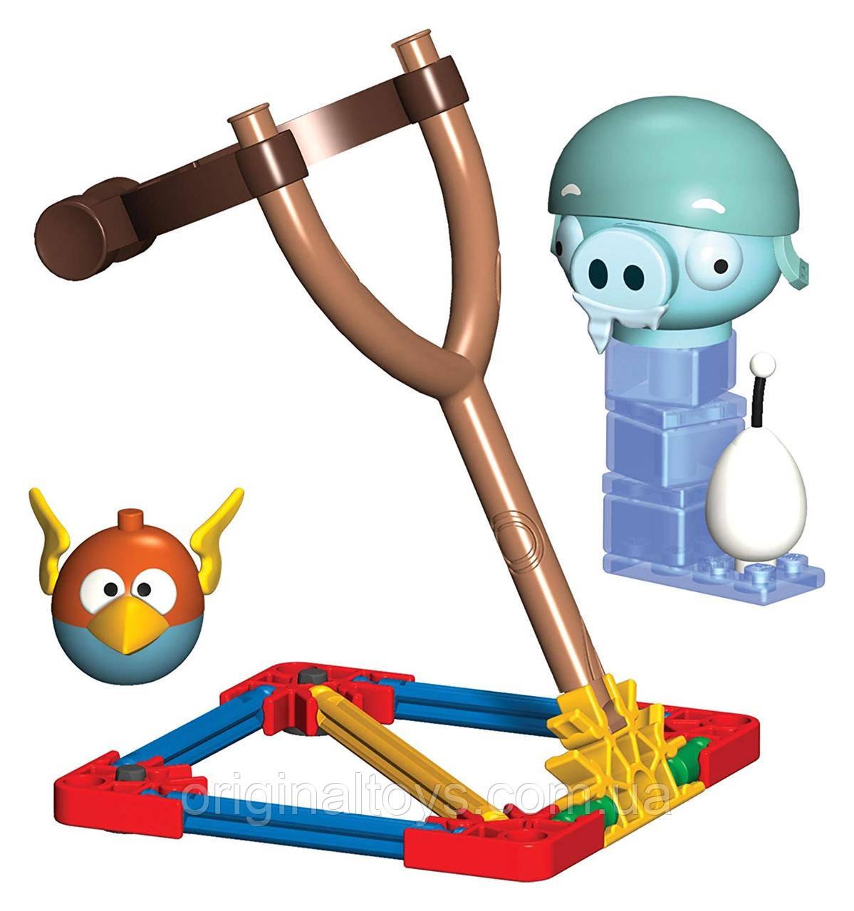 Игровой набор K'nex Angry Birds Птица-молния против Свиньи ледяного шлема