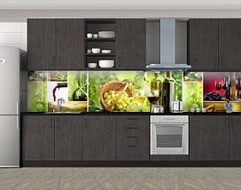 Защитная пленка на кухонный фартук с фотопечатью, 60 х 300 см. С защитной ламинацией, фото 3