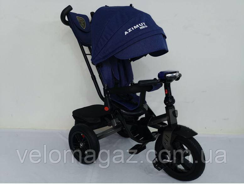 AZIMUT T-400 NEO AIR синій дитячий триколісний велосипед