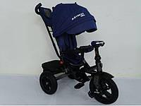 AZIMUT T-400 NEO AIR синій дитячий триколісний велосипед, фото 1