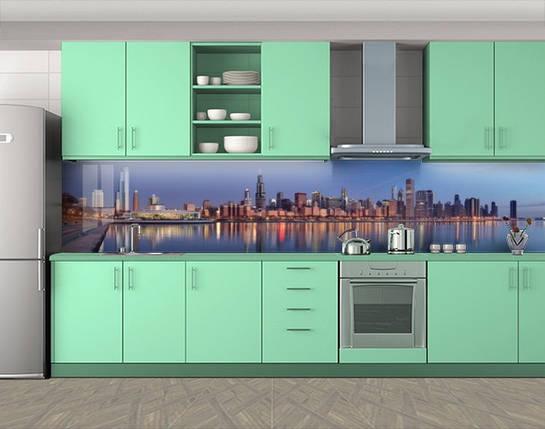 Фотопечать кухонного фартука на самоклейке, 60 х 300 см. С защитной ламинацией, фото 2