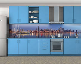 Фотопечать кухонного фартука на самоклейке, 60 х 300 см. С защитной ламинацией, фото 3