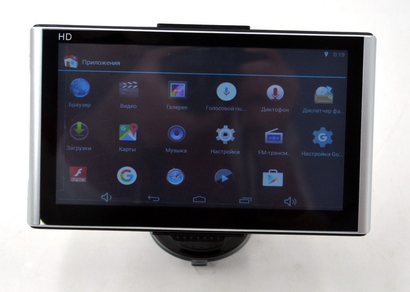 "Автонавигатор GPS-навигатор на Android Pioneer X7 (7"" / RAM 512 Mb / 16 Gb) Bluetooth и WiFi"