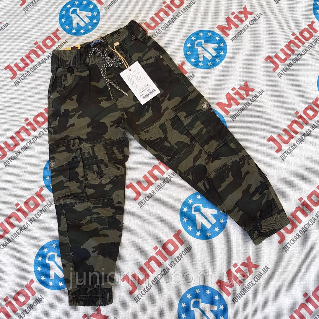 Детские камуфляжные  брюки для мальчиков оптом SEAGULL