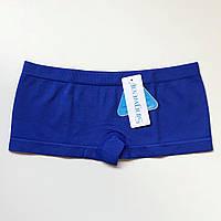 Трусики женские шорты бесшовные синий