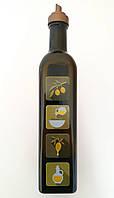 Бутылка стеклянная для масла Maraska 0,5л. с дозатором