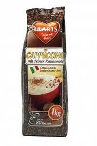 Капучино Шоколадный, Hearts Cappuccino Kakaonote, растворимый напиток 3в1, 1 кг