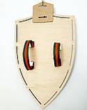 Щит с накладкой Череп цвет-Дуб, фото 2