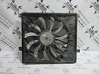 Комплектный вентилятор охлаждения двигателя Mercedes W163 ML-class (A1635000293 / 885002079 / 885003237), фото 1
