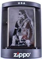 Зажигалка бензиновая Zippo Майкл Джексон №4222-1,качественные зажигалки, оригинальные подарки