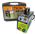 Сварочный аппарат Stromo SW-295 (дисплей + кейс) + Сварочная маска Форте MC-1000 (хамелеон), фото 2