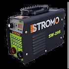 Сварочный аппарат Stromo SW-295 (дисплей + кейс) + Сварочная маска Форте MC-1000 (хамелеон), фото 4