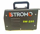 Сварочный аппарат Stromo SW-295 (дисплей + кейс) + Сварочная маска Форте MC-1000 (хамелеон), фото 6