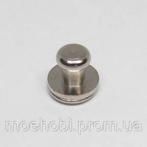 Винт для кобуры (4мм) никель,  5078