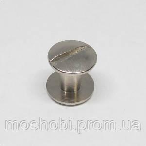 Винт для ремня (6мм) никель,  5075