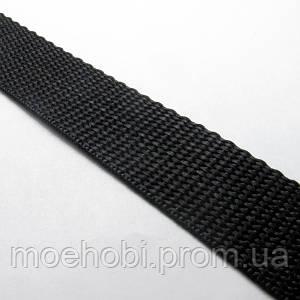 Ременная лента черная (25мм) Рулоны 5м / 25м артикул модели 6345