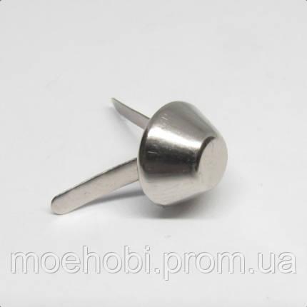 Ножка для сумки (10мм) никель,  5034, фото 2