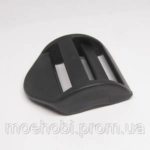 Пластмассовые регуляторы 26мм черные 50шт 5514