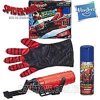 Набор 2в1 Перчатка Человек Паук Стреляет Паутиной Spider-Man Hasbro E2846