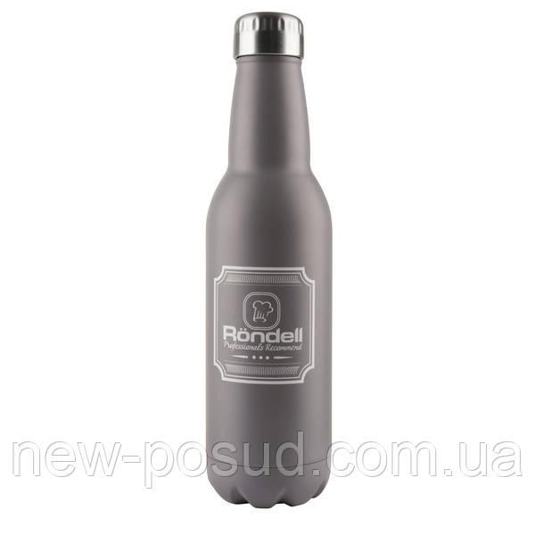 Термос RONDELL RDS-841 Bottle Grey 0.75 л RDS-841