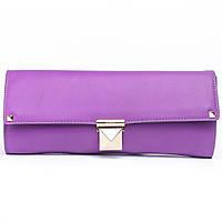 Женский фиолетовый клатч Valentino 101 purple