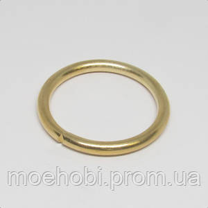 Кольца для сумок (27мм) золото,  Розница от 1 шт/ Опт от 10 шт артикул модели  4340