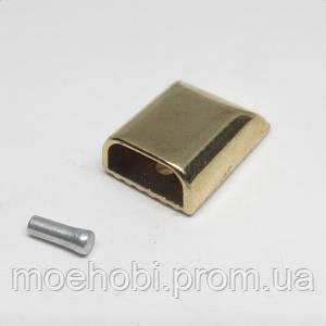 Наконечник для молнии золото, упаковка 20шт 5191
