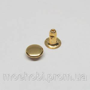 Хольнитены (6мм) Золото, упаковка 1000шт артикул модели  5123