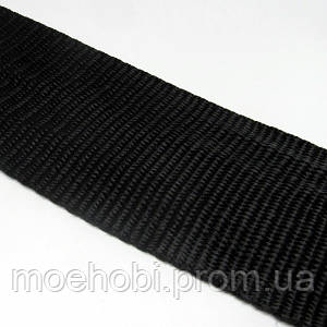 Ременная лента черная (50мм) Рулоны 5м / 25м артикул модели 6345