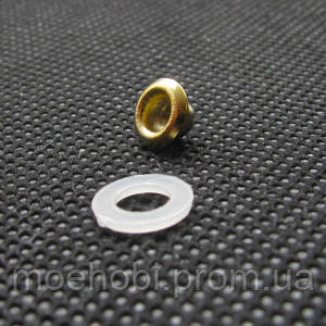 Люверсы (3мм, №17) Золото, упаковка 200шт артикул модели 05045