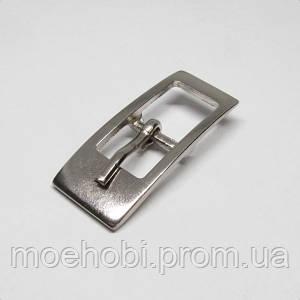 Пряжка для сумки (11мм) никель,  4759