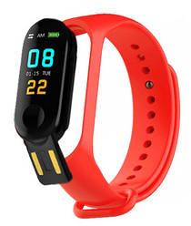 Фитнес браслет Smart Band M3+ Красный