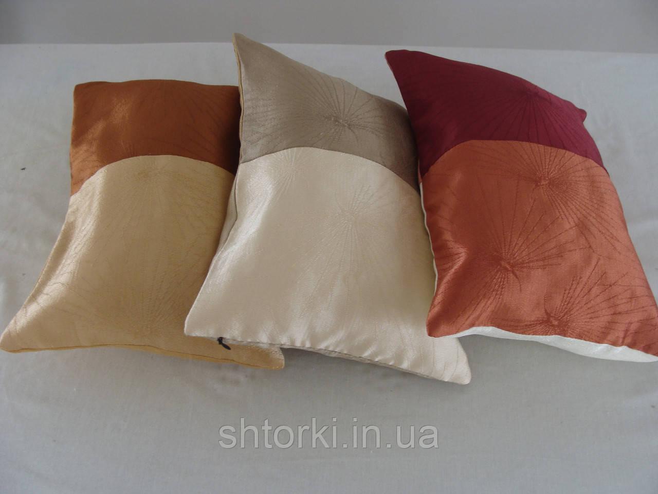 Комплект подушек  разноцвет, 3шт