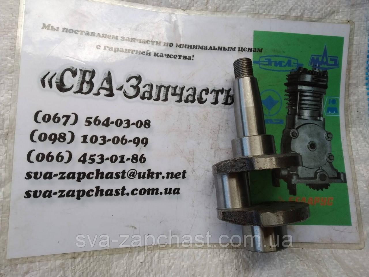Вал коленчатый компрессора ПАЗ 3205 ЮМЗ привод под шкив А29.03.004-01