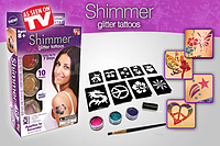 Блеск татуировки Shimmer Glitter Tattoos New