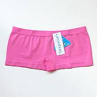 Трусики женские шорты бесшовные розовый
