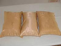 Комплект подушек  золотистые, 3шт, фото 1