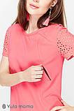 Платье-футболка для беременных и кормящих DREAM DR-29.061 розовое, фото 4