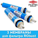 Комплект мембран FILMTEC 100 GPD - 3 шт. для фильтра RObust, фото 2