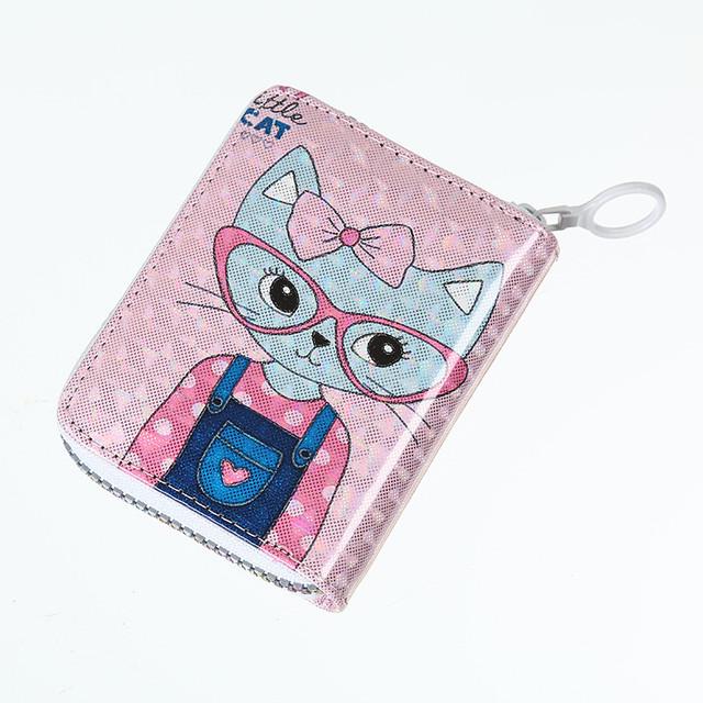 Блискучий дитячий гаманець Кішка