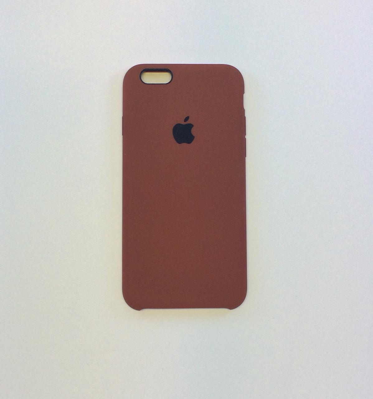 Силиконовый чехол для iPhone 6/6s, - «шоколад» №47 - copy original