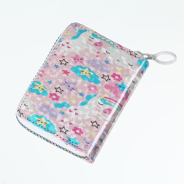 Блискучий дитячий гаманець Зірочки