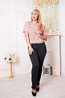Женские брюки Хилари чёрного цвета, фото 1