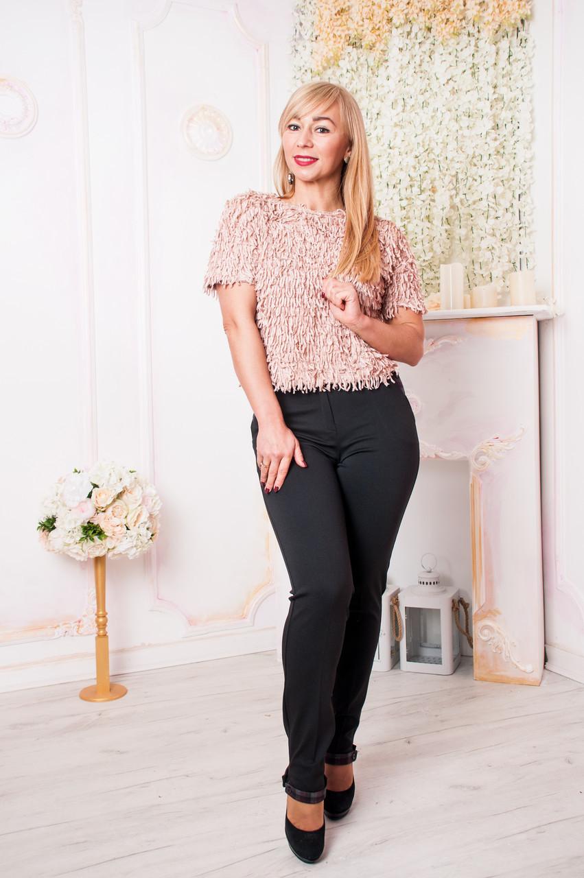 Женские брюки Хилари чёрного цвета